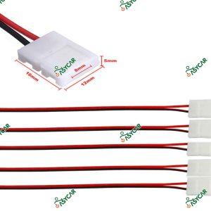 CONECTOR CINTA 8MM CON CABLE