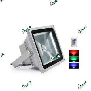 FOCO LED 10W RGB