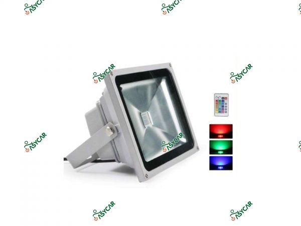FOCO LED 50W RGB